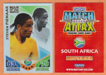 South Africa Steven Pienaar Everton 273 Man of the Match